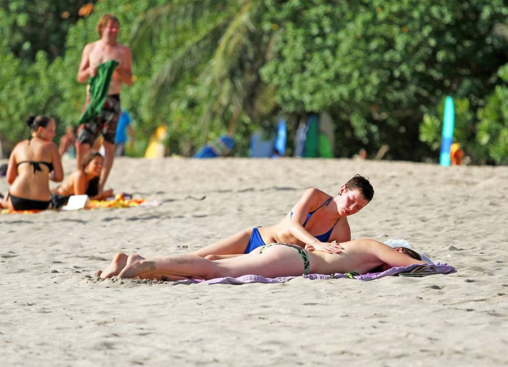 Female Couple Beach 3