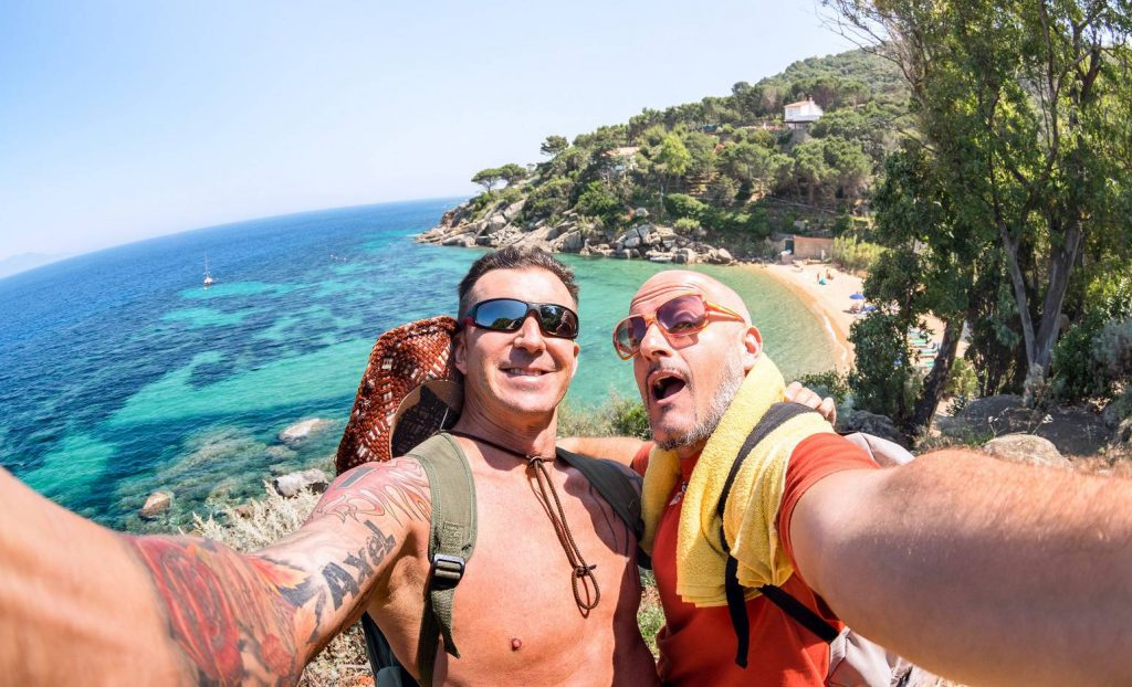 Male Couple Adventure