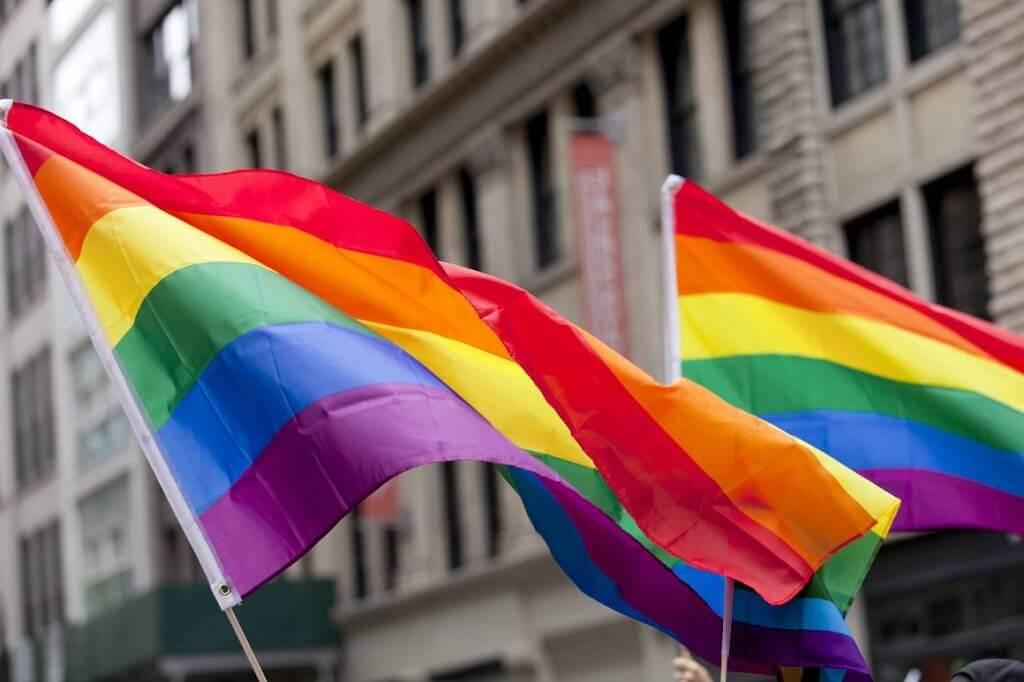 Gay Flag Aruba