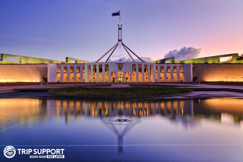 Canberra city parliment