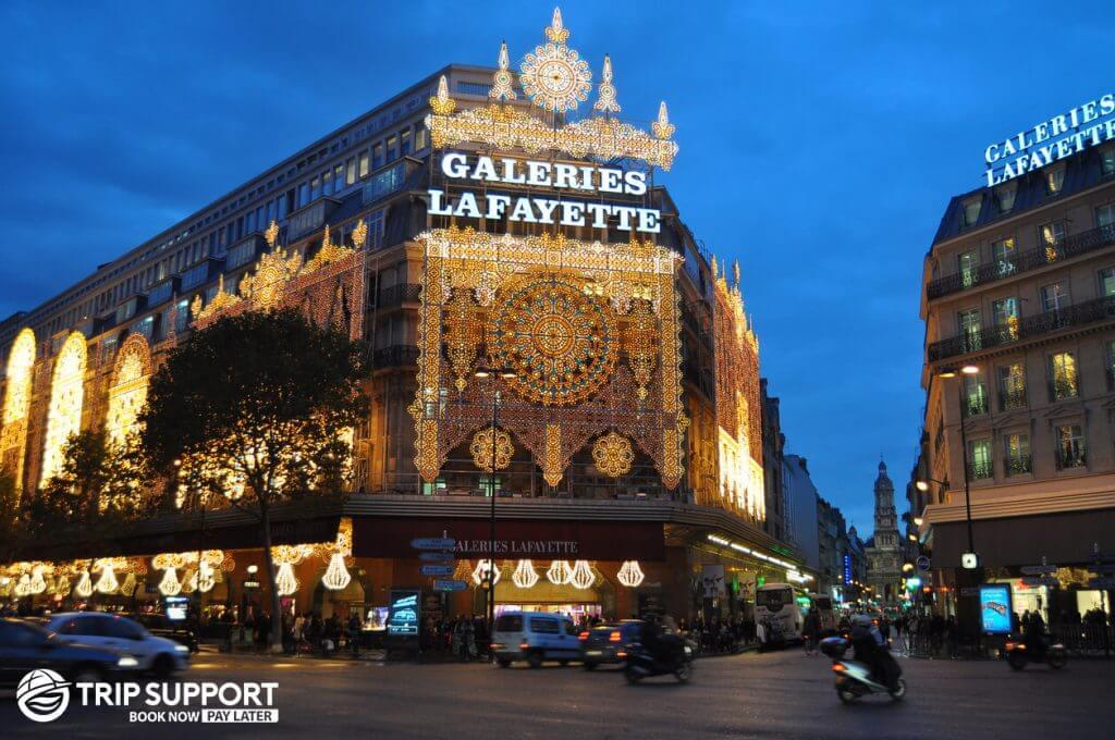 Paris Galeries La Fayette