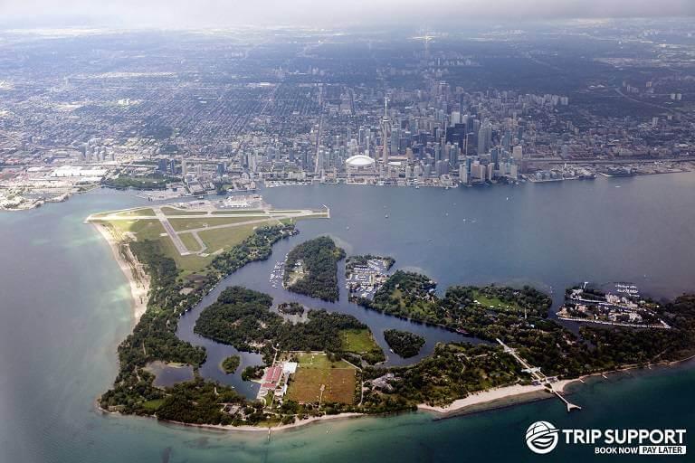 Soak up the sun on Toronto Island